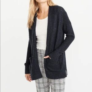 A&F Lightweight Easy Cardigan, Navy Blue, XS NEW